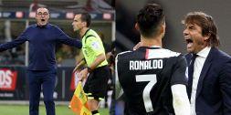 Juventus-Inter si gioca, sul web il coro è unanime