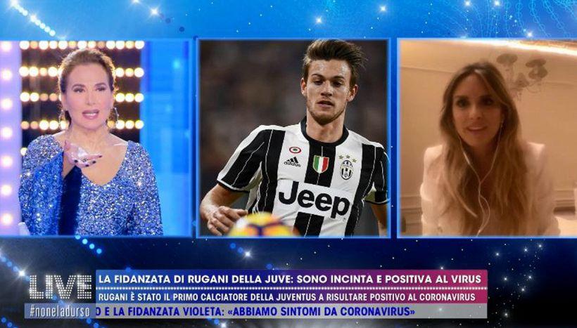 Michela Persico ospite di Barbara d'Urso: la versione sulla Juve