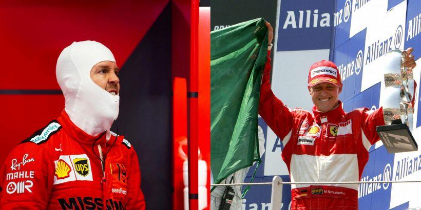 Ferrari, Vettel come Schumi: frase sul futuro agita i ferraristi