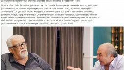 Addio Alessandro Rialti, firma del giornalismo e della Fiorentina