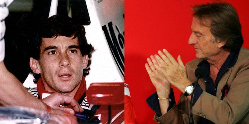 Montezemolo nostalgia Ferrari: la rivelazione su Senna