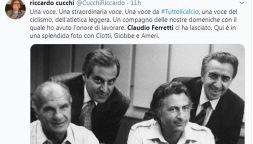 Il ricordo di Claudio Ferretti di amici e colleghi: Rai in lutto