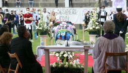 I funerali del calciatore Andrea Rinaldi