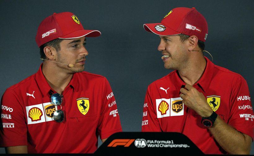 Vettel e Leclerc, intervista doppia: ricordo più bello in Ferrari