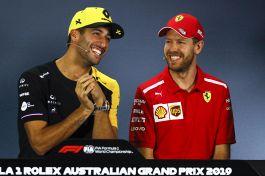 Ferrari, Ricciardo: quando il pilota va in bianco e non in rosso