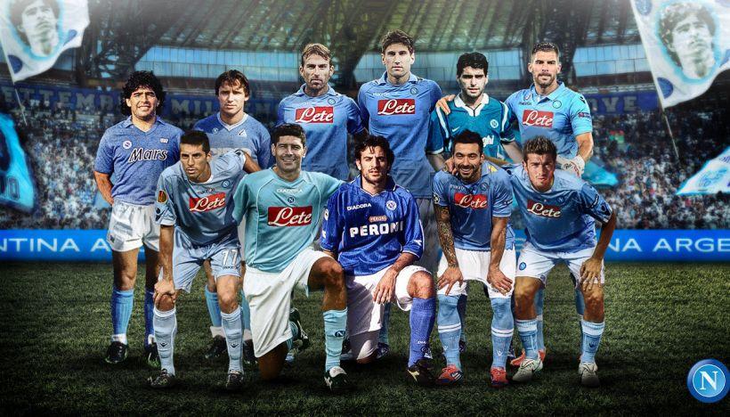 Napoli, che figuraccia con la top 11 degli argentini