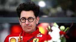 """F1: tensione Ferrari, Binotto sotto pressione: """"Chiamata in arrivo"""""""