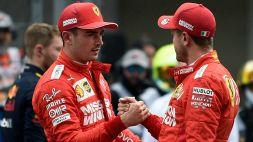 F1, da Leclerc un messaggio importante rivolto a Vettel