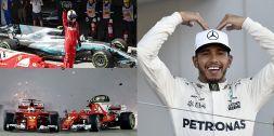 F1 Campionato Mondiale 2017: il duello Vettel-Hamilton in 10 foto