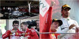 F1 Campionato Mondiale 2019: il 6° sigillo di Hamilton in 10 foto