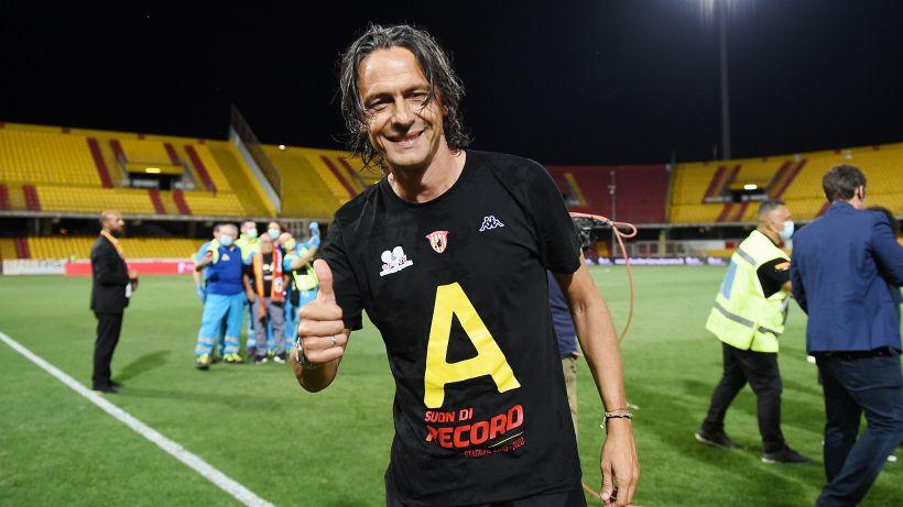 """Benevento, Inzaghi elogia i suoi giocatori: """"Hanno fatto la storia"""""""