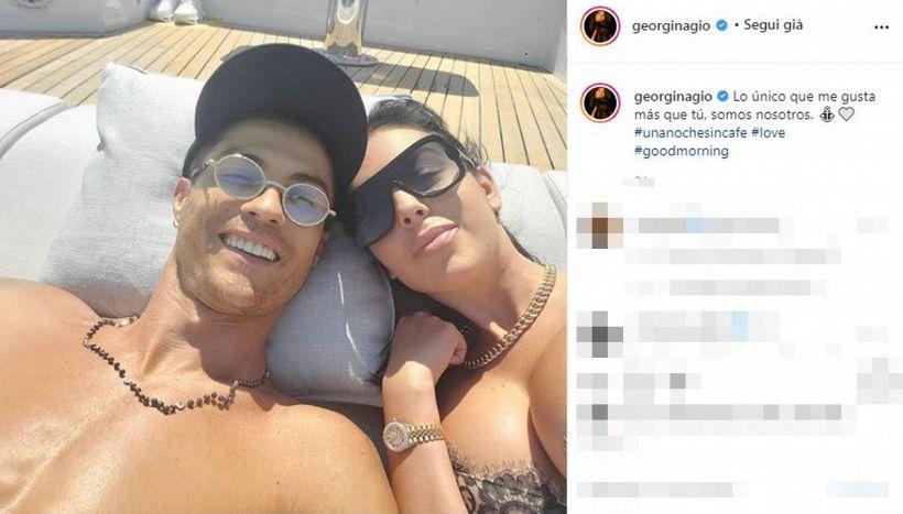 Georgina, messaggio a Cristiano Ronaldo complice la Versilia