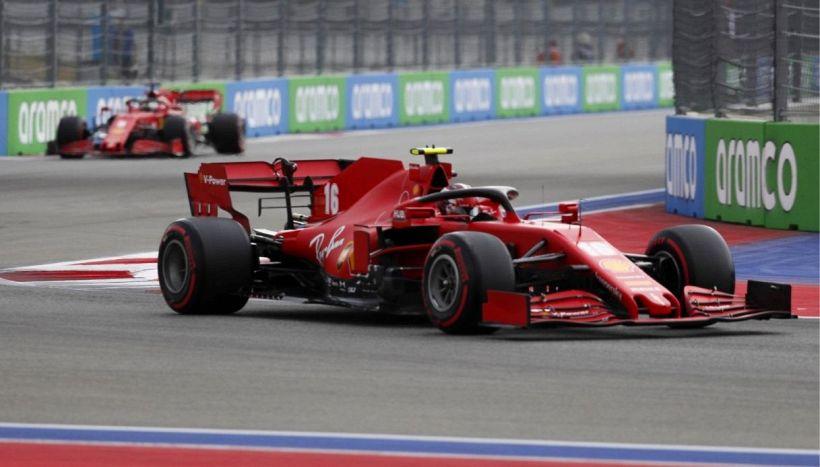 F1, GP Russia: il racconto della gara