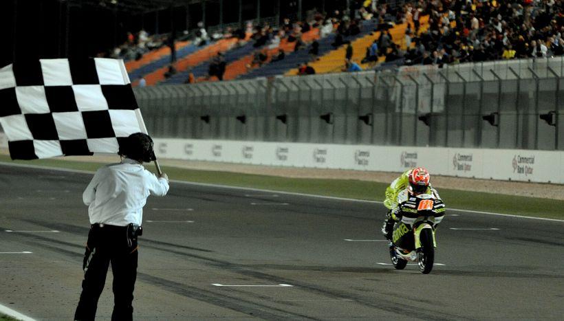 Marquez trionfa, Valentino Rossi e Dovizioso beffati