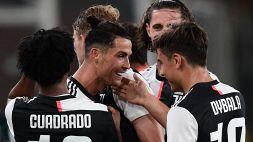 Dybala e Ronaldo pennellano, la Juve abbatte il Genoa