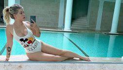 La lunga estate calda di Wanda Nara: la foto che desta scalpore