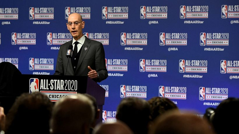 """NBA, Silver: """"Potremmo doverci fermare"""""""