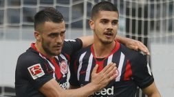 Milan: l'Eintracht apre allo scambio Rebic-Silva