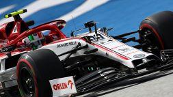 F1, l'Austria porta bene a Giovinazzi