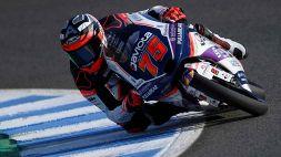 Moto3, vince Arenas, Arbolino terzo