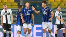 L'Atalanta spaventa il Psg: Parma ribaltato