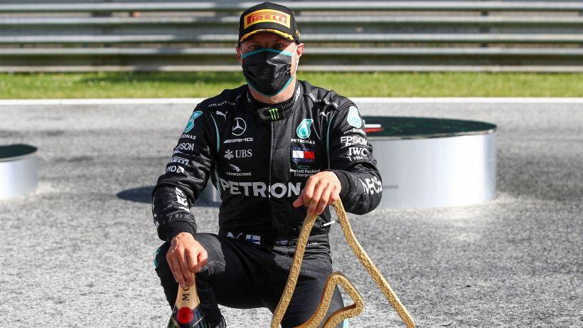 """F1, Bottas: """"Abbiamo dormito come team"""""""
