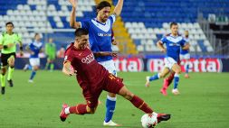 Le foto di Brescia-Roma 0-3