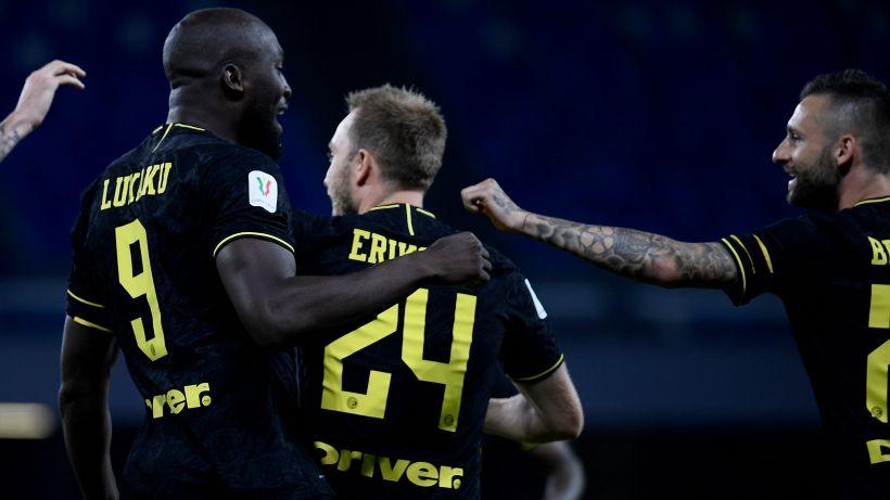 Inter-Sampdoria, le formazioni ufficiali: Eriksen c'è, chance La Gumina