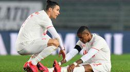 Juventus, Douglas Costa ko: i tempi di recupero