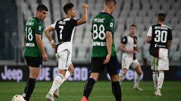 Cristiano Ronaldo salva la Juventus: Atalanta ripresa due volte