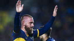 """De Rossi: """"Voglio allenare il Boca Juniors"""""""