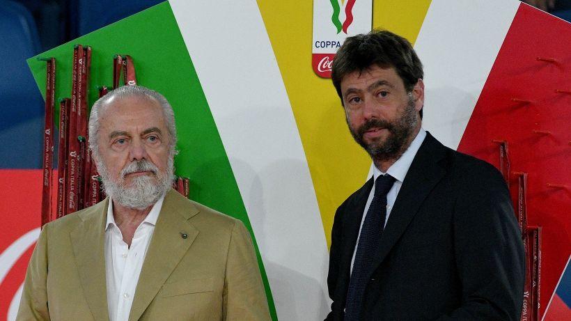 La Juventus fa infuriare De Laurentiis: scontro di mercato