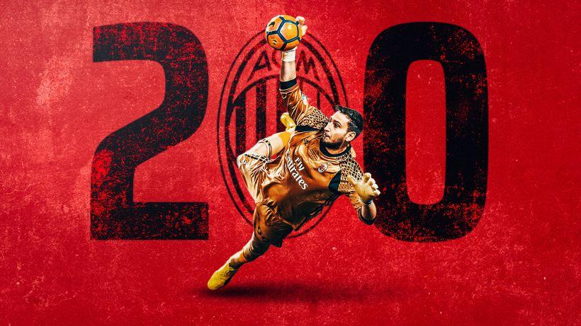 Donnarumma fa 200 presenze con il Milan: dal Sassuolo al Sassuolo