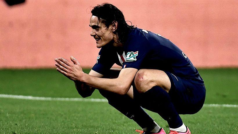 Cavani vuole troppo, salta l'affare con il Benfica