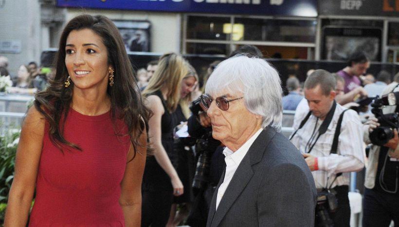 Bernie Ecclestone di nuovo papà a 89 anni: è nato un maschietto