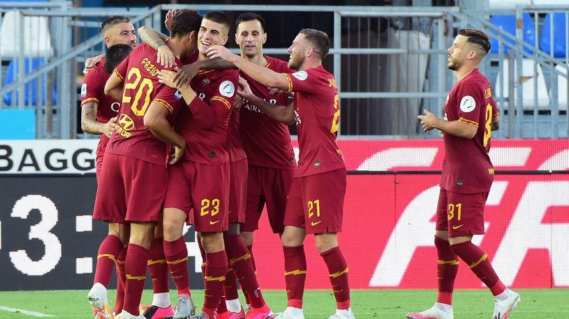 Roma in festa: Brescia abbattuto e Zaniolo in gol
