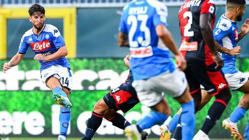 Le foto di Genoa-Napoli 1-2