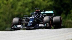 F1: Hamilton si prende anche le terze libere, Ferrari insegue