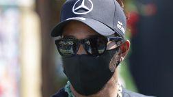 F1, Hamilton si sfoga sui social