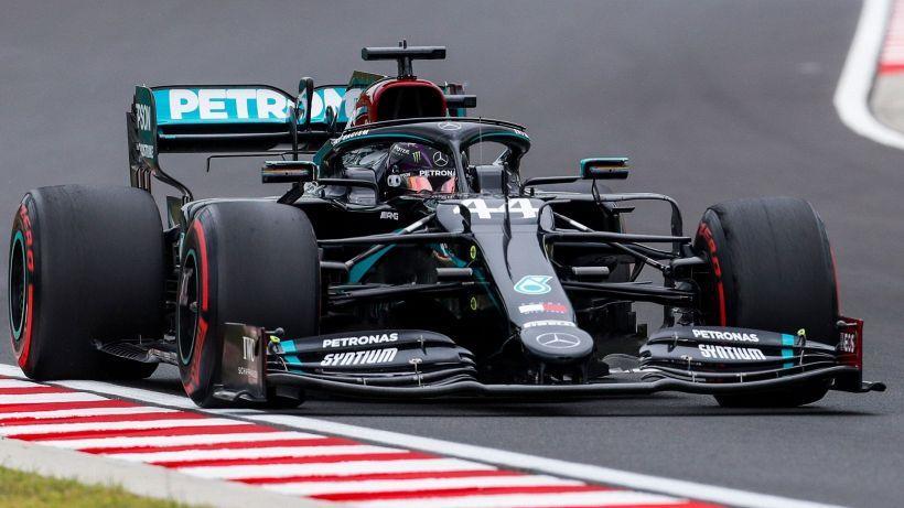 F1, prime libere GP Ungheria: dominio Mercedes, si rivede la Ferrari