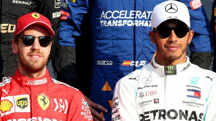 Formula 1: attacco frontale di Lewis Hamilton alla Ferrari