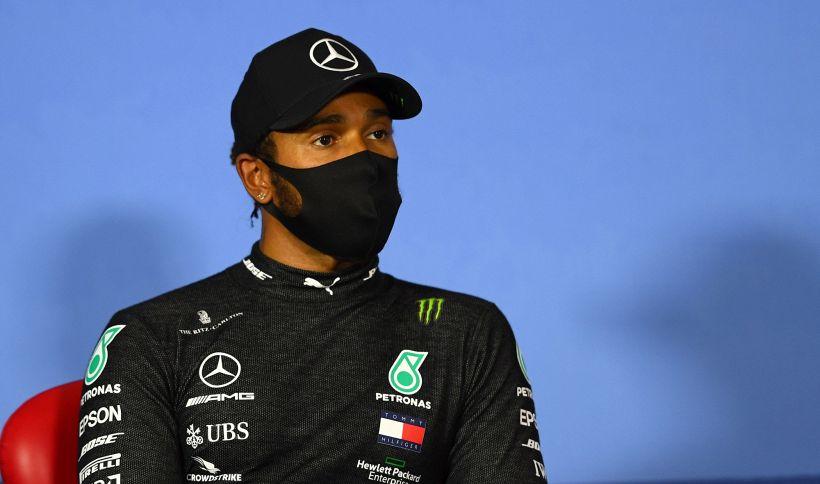 F1, Hamilton non sorride