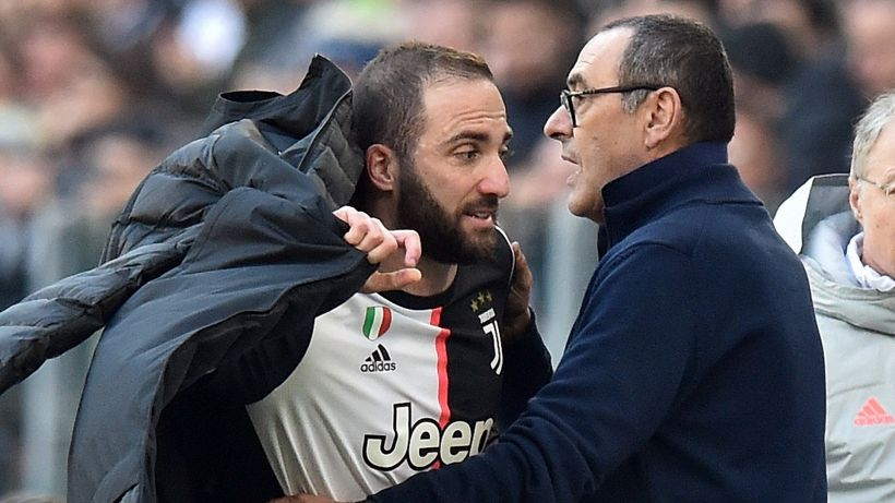 Mercato Juventus: la rivelazione di Sarri su Gonzalo Higuain