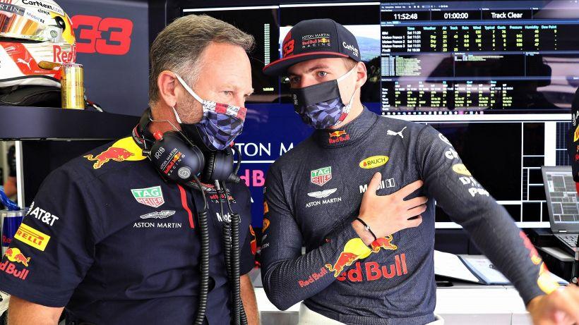 F1, la penalità di Verstappen a Sochi non spaventa la Red Bull