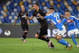 Serie A: pari spettacolo tra Napoli e Milan al San Paolo