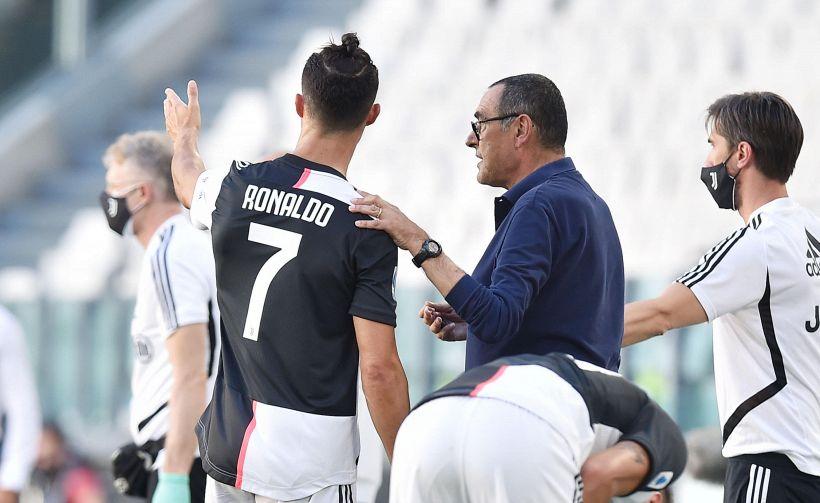 Juve derby ok, il video Ronaldo-Sarri fa discutere