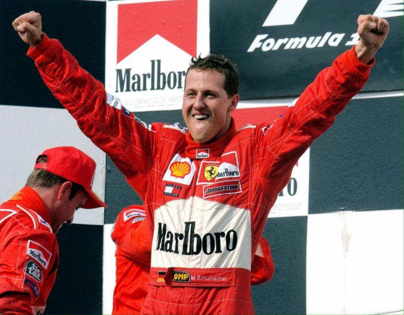 Schumacher: quel sorriso per i bambini, una strada col suo nome