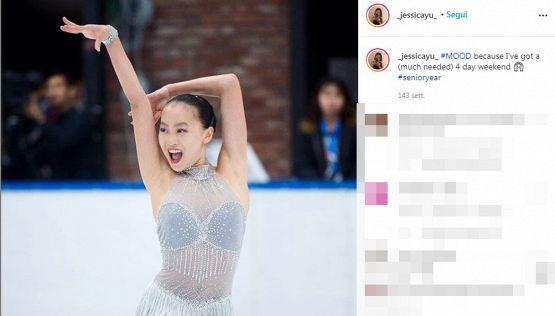 Jessica Shuran Yu rompe il silenzio: le accuse della pattinatrice
