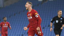 Premier League, il calciatore dell'anno è Jordan Henderson