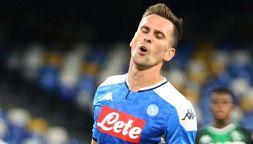Milik scatena la rabbia dei tifosi del Napoli